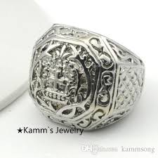 big fashion rings images Ring men fashion big rings for mens church cross pattern finger jpg