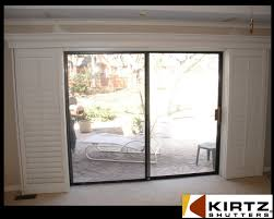 Installing Interior Sliding Doors Sliding Shutters For Sliding Doors A Not So Standard Installation