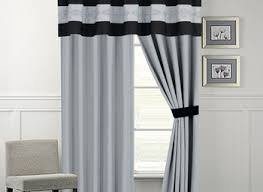 White Black Curtains Curtains For Gray Walls Curtains Gray Walls Neutral Flax Curtains