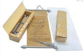 scroll invitation rods cheap scroll wedding invitations find scroll wedding invitations