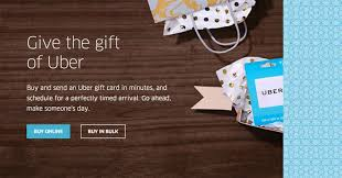 who buy gift cards you can now buy uber gift cards online tech my money