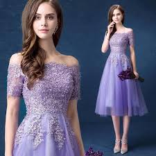 off the shoulder half sleeve lavender bridesmaid dresses cheap