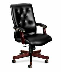 Leather High Back Armchair 6540 Series Executive High Back Chair H6541 Hon Office Furniture