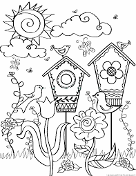 123 coloring pages spring coloring pages part 2