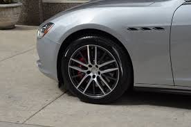 maserati ghibli grey black rims 2017 maserati ghibli sq4 s q4 stock m597 for sale near chicago