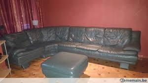 canapé haute qualité canapé d angle cuir haute qualité couleur verte a vendre