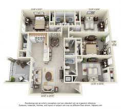 four bedroom townhomes bedroom apartment floor plans near ucf the verge orlando fourm