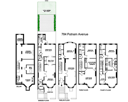 stuy town floor plans bedford stuyvesant house for sale 704 putnam avenue brownstoner