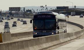 Metro Silver Line Map by Silver Line Los Angeles Metro Wikipedia
