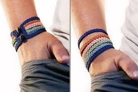 crochet bracelet diy images Crochet bracelet pattern crochet pattern crochet jewelry jpg
