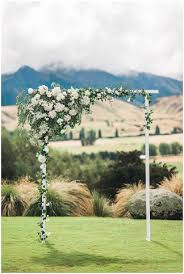 wedding arches nz new zealand mountain wedding fab you bliss