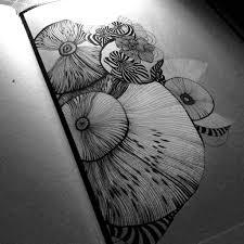 mushroom drawing sketchbook pinterest mushroom drawing