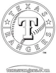 texas rangers coloring pages mlb coloring pages free coloring