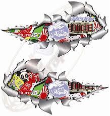 jdm subaru stickers small metal rip open sticker bomb no 3 jdm style race car van vw