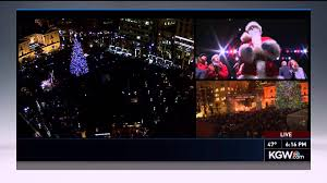 2014 portland christmas tree lighting youtube