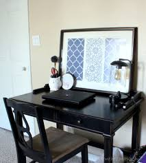 Bedroom Office Desk Master Bedroom Makeover Erin Spain