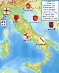 Italy On World Map by The Maritime Republics Of Medieval Italy Italy Maps Pinterest
