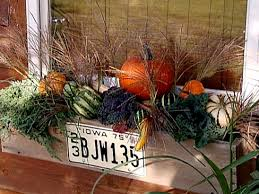 fall kitchen decorating ideas fall s bounty window box hgtv