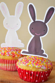 cupcake toppers easter cupcake toppers picklebums