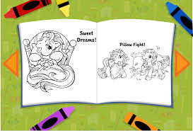 play coloring pages of pucca and friends game online