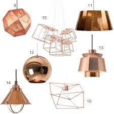get the look 15 modern copper pendant lights