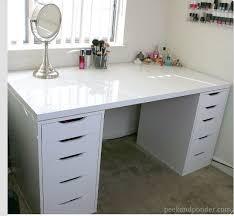black makeup desk with drawers 144 best makeup studio images on pinterest hairdresser