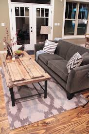 the house at coppercreek barn door coffee table