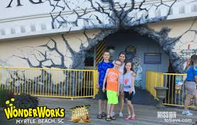 Wonderworks Upside Down House Myrtle Beach - myrtle beach wonderworks is wonderful mission to save