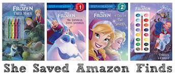frozen books summer reading shesaved
