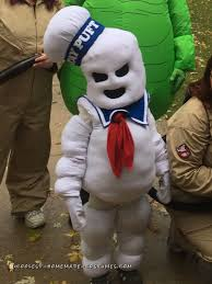 Stay Puft Marshmallow Man Costume Puft Mini Marshmallow Man Costume