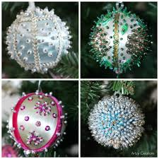 how to make vintage looking ornaments and more artzycreations