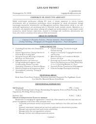 executive administrative assistant resume resume exles personal assistant best of executive assistant