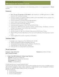sap crm technical consultant resume ideas of resume cv cover letter sap fico consultant resume sap