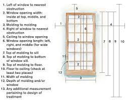 window measurements window treatments 101 threads