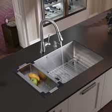 Undermount Kitchen Sink Stainless Steel Vigo All In One 30 Inch Mercer Stainless Steel Undermount Kitchen