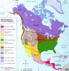 america climate zones map climate map america