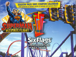 Coupons For Six Flags Six Flags Great Adventure Season Pass Coupon Booklets