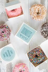 personalized donut boxes hello wonderful 12 adorable free printable favor boxes
