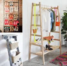 10 awesome ideas to organize with ladders
