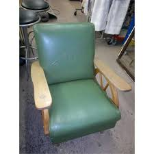 Rocking Chair Vancouver Rocking Chair Green With Pine Wagon Wheel Style Sides