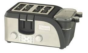 Calphalon 4 Slot Stainless Steel Toaster Special Discount Chefscape Tempr 4 Slice Egg And Muffin Toaster