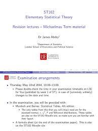 st102 michaelmas term revision lse london of economics