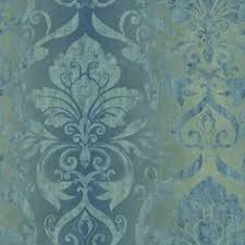 Sherwin Williams Temporary Wallpaper Norwall Regal Damask Wallpaper Bedroom Accent Wall Home Sweet