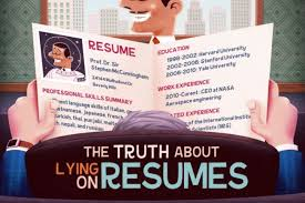 interesting stats on resume lies infographic your journey to a resume lies hloom com