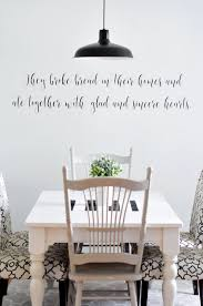 Dining Room Decals Farmhouse Dining Room Reveal Salt U0026 Life Blog