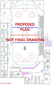 arena floor plans projected plan drawing sheridan on skates of wyoming