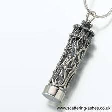 cremation pendants cremation pendants premium silver ash cylinder scattering ashes