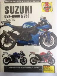 haynes manual 4790 suzuki gsxr600 gsx r600 u0026 gsxr750 gsx r750 2006
