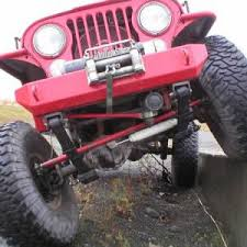 jeep body armor bumper rock proof