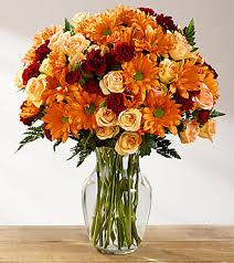 ftd golden autumn bouquet premium fall thanksgiving flowers